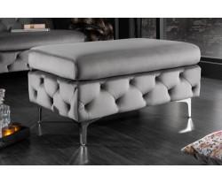MODERN BAROCK šedý taburet