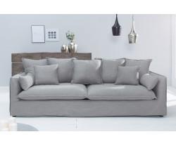 LISA šedá, moderní pohovka...