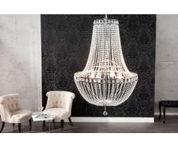 CHRISTELLE luxusní lustr, čirý