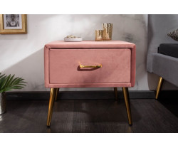 LONDON noční stolek růžový...