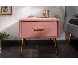 PARIS noční stolek růžový...